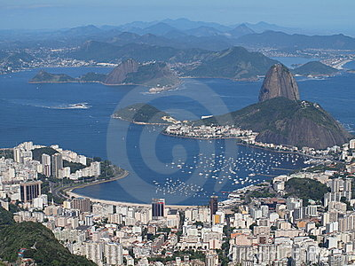 Sugarloaf and botafogo bay