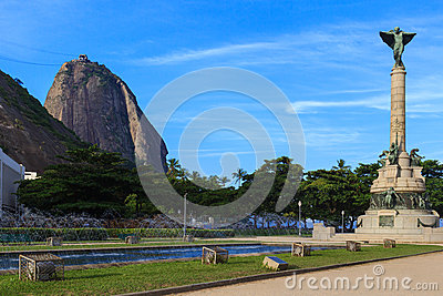 Sugarloaf General Tiburcio square, Rio de Janeiro