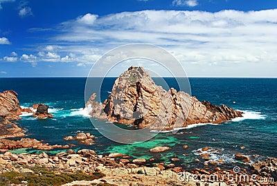 Sugarloaf rock Australia
