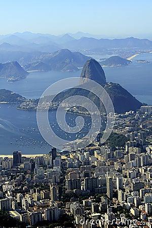 Sugarloaf at wonder city of Rio de Janeiro, Brazil