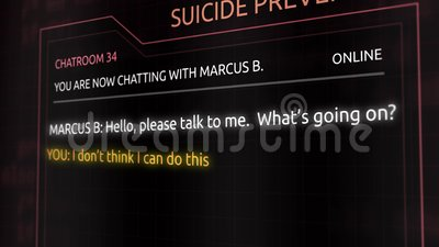 Suicide Prevention Chat Room Transcript - Person With Deep ...