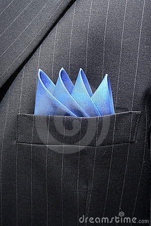 Free Suit Breast Pocket Royalty Free Stock Photos - 1815968