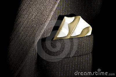 A suit handkerchief