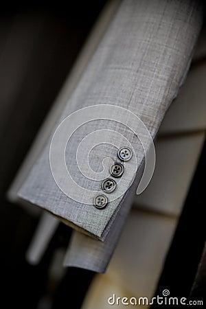 Suit jacket sleeve