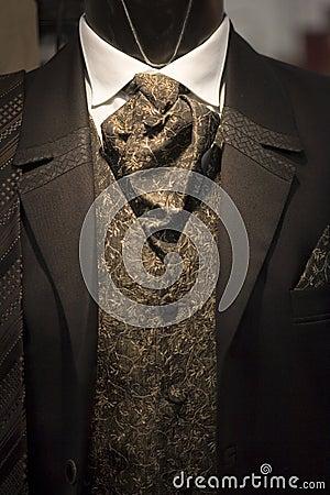 Suit on shop mannequins