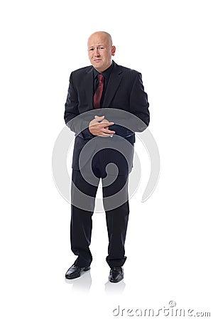 Suit stomach pain