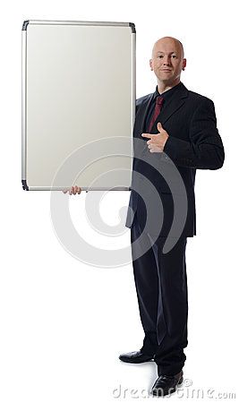 Suit white board