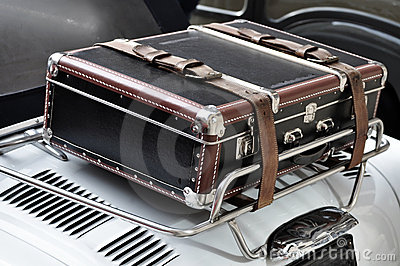 Suitcase on a Car