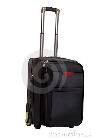 Suitcase with a handle
