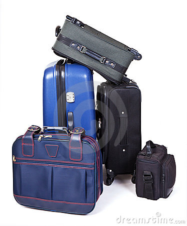 Free Suitcases Royalty Free Stock Photo - 18528755