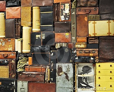 Suitcases Editorial Stock Image