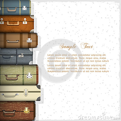 Free Suitcases Royalty Free Stock Image - 27469296