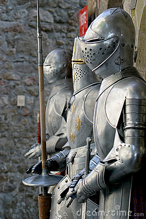 Free Suits Of Armour Royalty Free Stock Photography - 1761927