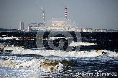 Suizhong coastal power plants