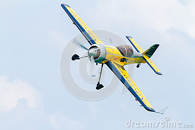 Sukhoi 31 of Ramon Alonso Editorial Stock Image