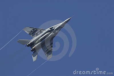 Sukhoi SU-30 in action
