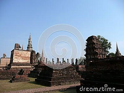 Sukhothai historic site, Thailand