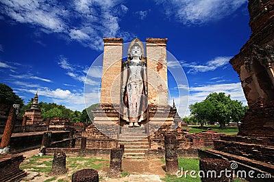 Sukhothai historical park - wat Mahathat landmark