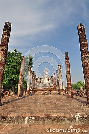 Sukhothai Ruin Old City Country Stock Image - Image: 32981191