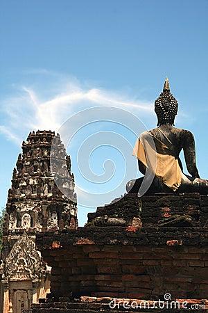 Sukhothai Temple and Buddha