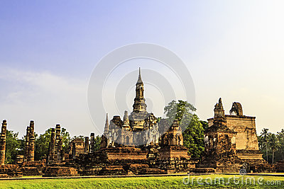 Sukhothai Temple From Thailand Royalty Free Stock Photo - Image: 25730055