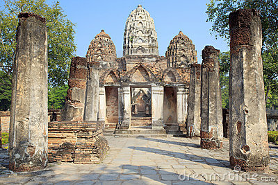 Sukhothai World Heritage Site and the related hist
