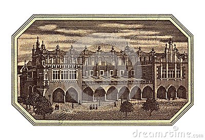 Sukiennice Krakow Poland