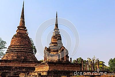Sukothai temple