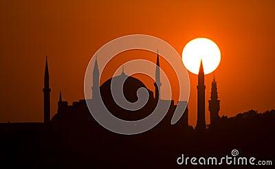 Suleymaniye Istanbul sunset