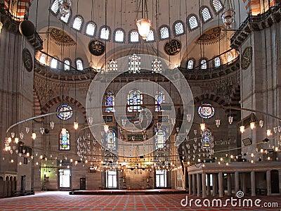 Suleymaniye mosque in Istambul