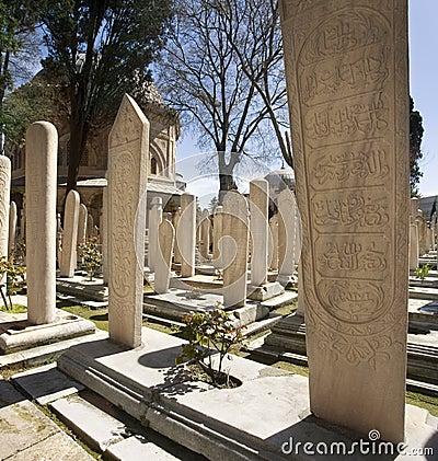 Suleymaniye Mosque - Istanbul - Turkey Editorial Stock Image