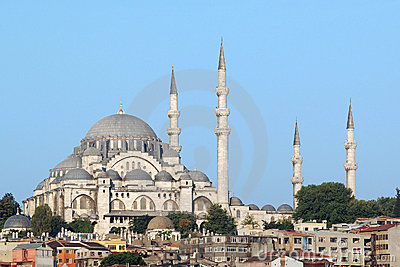 Suleymaniye Mosque, Istanbul, Turkey Stock Photo - Image: 5677340