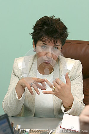 Sulfina Barbu Editorial Stock Image