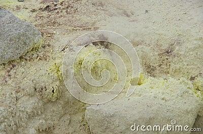 Sulfur spout