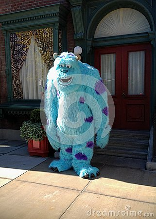 Sully Monsters INC Editorial Stock Photo