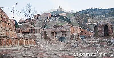 Sulphur (Turkish) baths. Tbilisi, Georgia