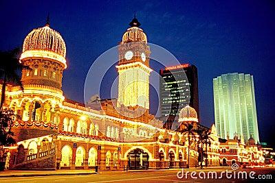 Sultan Abdul Samad Building Editorial Stock Photo