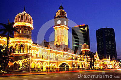 Sultan Abdul Samad Building Editorial Photography
