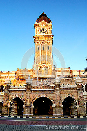 Sultan Abdul Samad Building Editorial Image