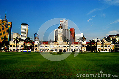 Sultan Abdul Samad Building Editorial Photo