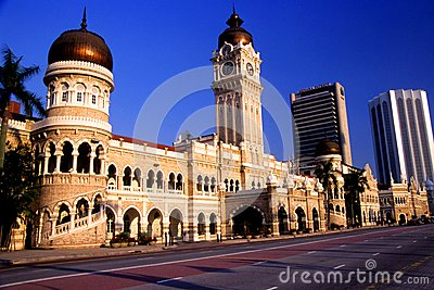Sultan Abdul Samad Building Editorial Stock Image