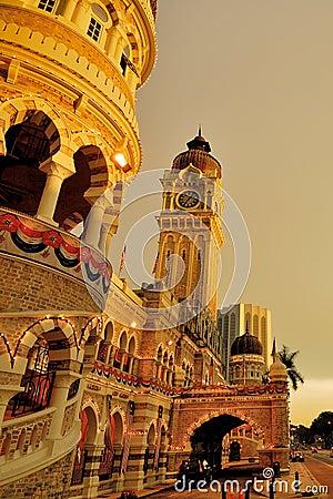 Sultan Abdul Samad Building Editorial Image