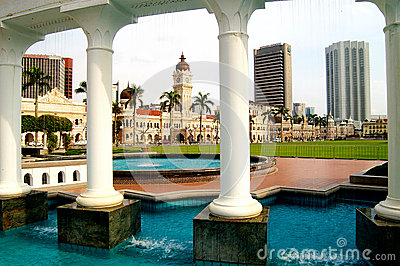 Sultan Abdul Samad Building Editorial Stock Photo