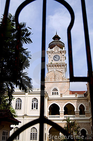 Sultan Abdul Samad Building with Clock Tower