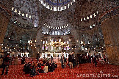 Sultan Ahmed Mosque Istanbul Editorial Stock Photo
