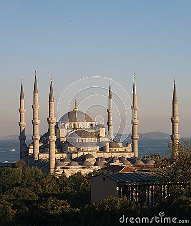 Sultan Ahmet camii.