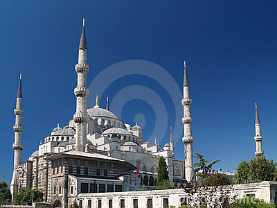 Sultan Ahmet camii. Most famous as Blue mosque.