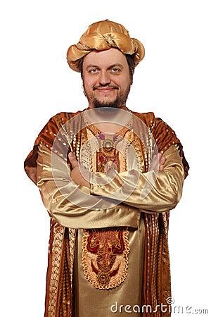 Sultan, carnival costume