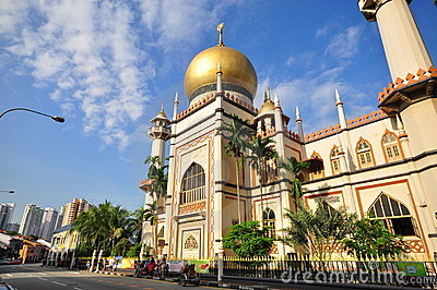 Sultan Mosque, Singapore Editorial Photo
