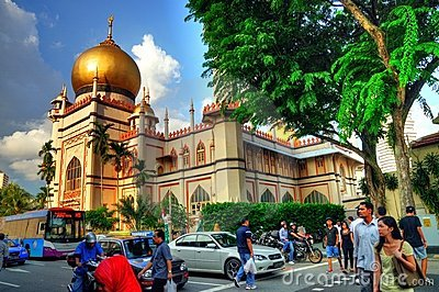 Sultan Mosque, Singapore Editorial Photo